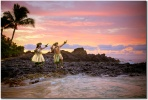 E Ala E image of hawaiian hula at sunrise